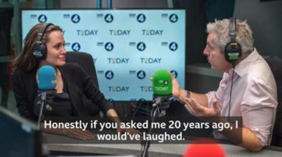 """""""这问题你20年前问我,我会大笑""""(BBC截图)"""