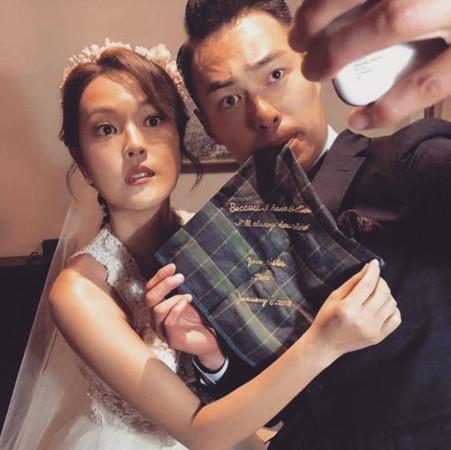 杨祐宁日前PO出与新娘的合照,一度让粉丝误会,但后来证实照片中的女生是他姐姐。