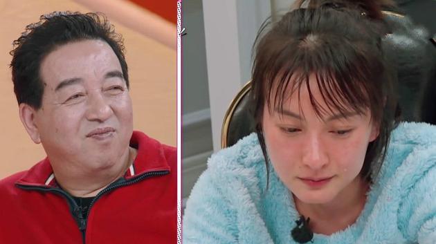 吴昕在谈到大龄女性寻找另一半的困境时流下眼泪。