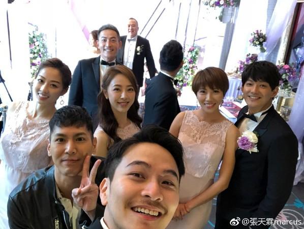 明金成导演婚礼,圈内艺人大集合