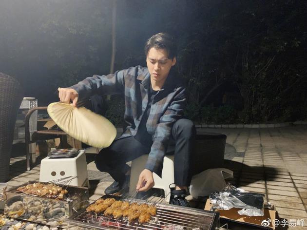 李易峰烤串