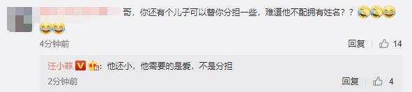 汪小菲回应网友