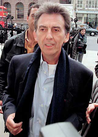 图文:前披头士成员乔治-哈里森患脑癌今日逝世