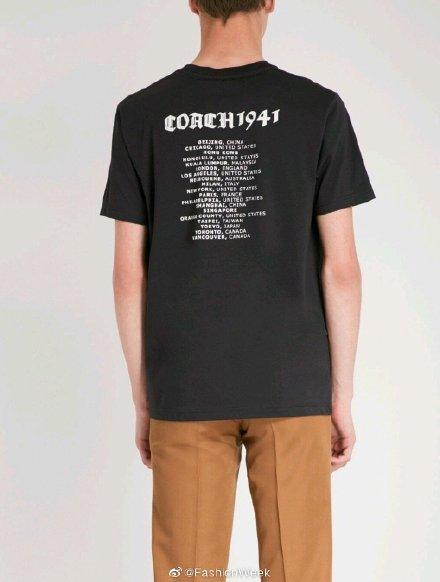 蔻馳T恤被扒不尊重中國主權 網友要求品牌方道歉